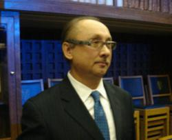 Dr Nikolai Tankovich, President and Chief Medical Officer of Stemedica at the Centre for Science and Society at Trinity College, a constituent college of the University of Oxford, England