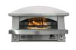 The Artisan Fire Pizza Oven is the only outdoor countertop pizza oven with independently-controllable burners. Gas-fired, heating to 800+ degrees, Neapolitan-style pizzas cook in less than 3 minutes.