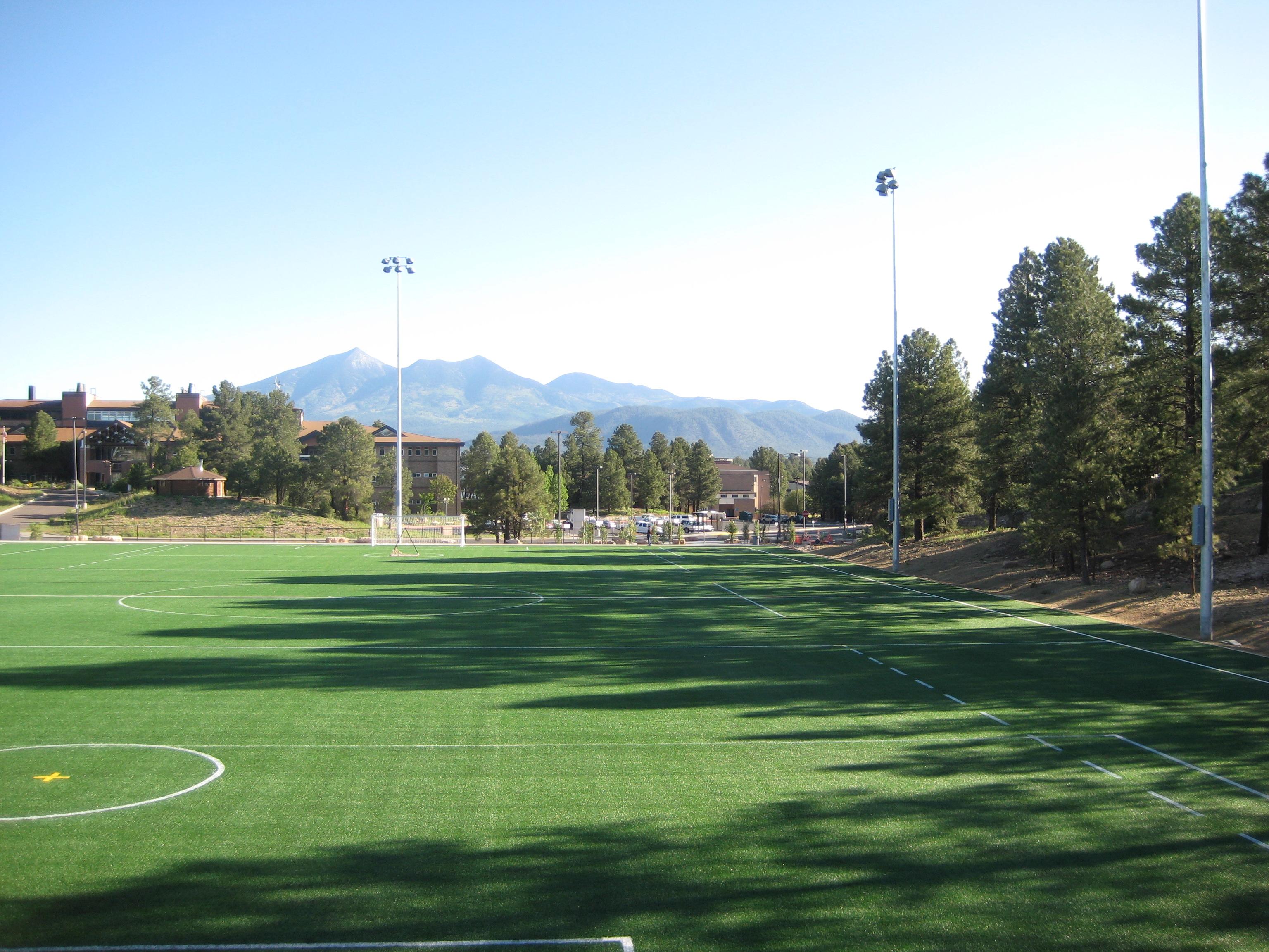 Northern Arizona University S Artificial Field Turf