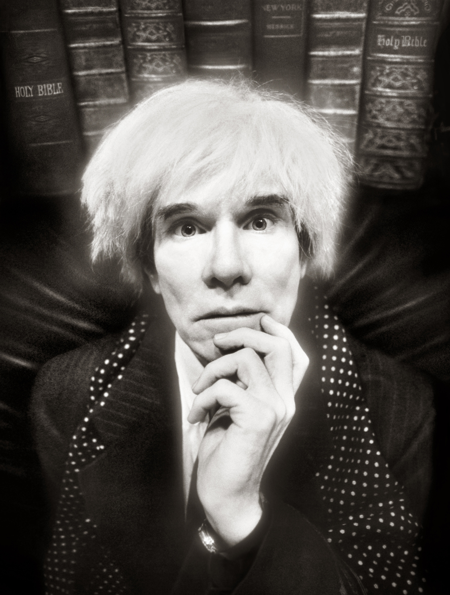 last portrait of andy warhol before he died is currently