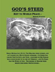 """God's Steed- Key to World Peace"" front cover"