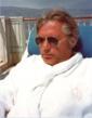 "Billy ""Silver Dollar"" Baxter pool side at Hotel La Voile d'Or Saint-Jean-Cap-Ferrat"