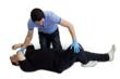 How to put a casualty in the recovery position.