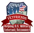 Offical VetFriends.com logo.