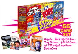 Cereal Killers Trading Cards 3-Pack Set