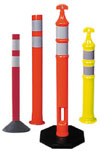 traffic marking delineator posts