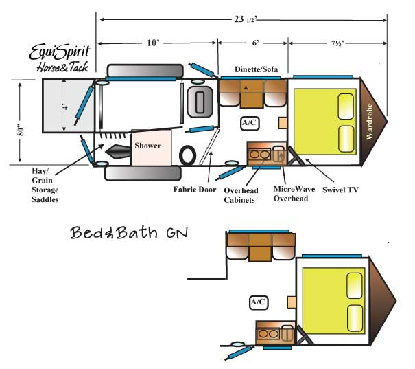 New One Horse Trailer Design Sparks Quick Success In Horse Trailer