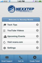 Nexxtep Mobile Screen Shot