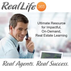 Introducing Real Life 365, high-impact, peer-to-peer online real estate education