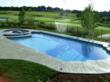 This pool built by Barrington Pools won a Gold Award from Master Pool Guild.