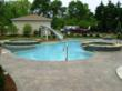 This pool built by Barrington Pools won a Silver Award from Master Pool Guild.