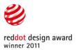 Red Dot Design Award 2011 Logo - Phonak Dynamic SoundField