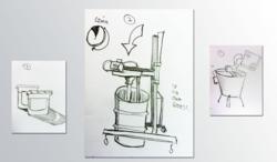 Brad Hames's Honey Jelly Machine (patent pending)