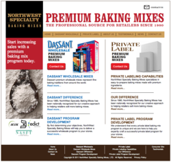 Private Label and Wholesale Baking Mixes