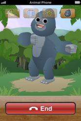 Graham Gorilla Beating His Chest