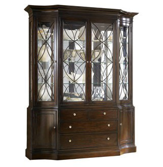 Console Curio Cabinets Like The Oak Ridge 93728 Curio Cabinet By Eagle, Put  A Large Amount Of Storage In A Small Space.