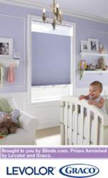 Blackout shades are ideal for nurseries and children's rooms