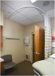 InPro Bendable Cubicle Curtain Track