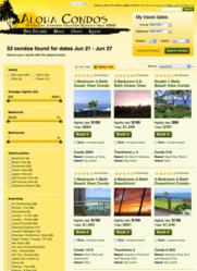 Hawaii vacation rental search