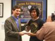 Tom Willingham presents Student Video Winner with 2011 Award