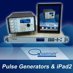 Quantum Composers Pulse Generators with iPad2