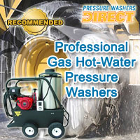 Pressure Washers Direct Announces Best Professional Gas (Hot Water) Power Washers