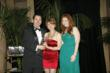 Joanne Fazzino of J.Wavro Associates (center) won Leasing Agent of the Year at the SFAA Trophy Award Ceremony