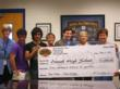 Student Video Winner and Etowah High Awarded Big Check!