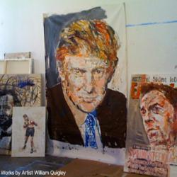 Additional image of the Trump painting