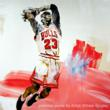 Image of Michael Jordan Portrait by William Quigley.