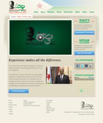 President of Djibouti - new website