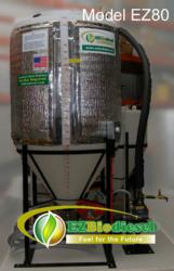 EZBiodiesel 80 gallon processor