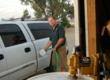 Filling up with Home Made Biodiesel