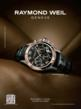 Raymond Weil magazine ad example