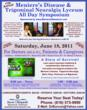 2011 National Symposium on Meniere's Disease