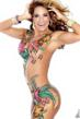 Celebrity Jennifer Nicole Lee Body Paint