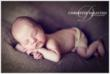 Sleeping Newborn by Newborn Photographer Christine DeSavino