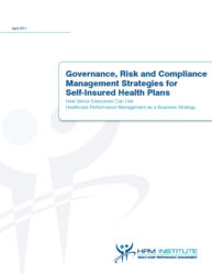 New White Paper: Governance, Risk and Compliance Management Strategies for Self-Insured Health Plans