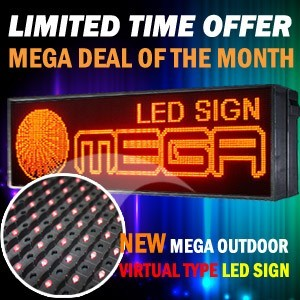 Mega Led Technology Offers Mega Deals On Tri Color Full Color And Red Color Outdoor Led Signs