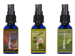 The extracts are available as sprays or drops, in three blends.  The Healing Tincture has the highest ratio of CBD.  Tranquility Tincture contains equal amounts of CBD and THC, and Euphoria Tincture i
