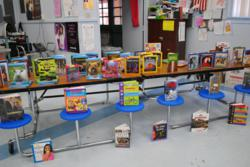 Homedale Elementary library receives books donated by Studentreasures Publishing