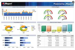 JReport Dashboard