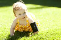 The Bamboo Brace, a pediatric elbow brace, provides support and aids in the development of motor skills in kids.