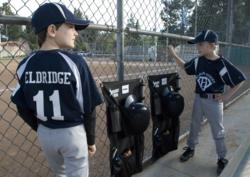 Durable construction of polyester and expandable mesh pockets.  The Dugout Hero is the only personal youth dugout organizer of its kind for baseball, softball and T-ball