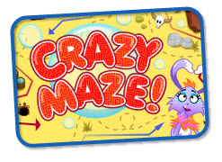 Fun Educational Games - Kabongo's Crazy Maze Game