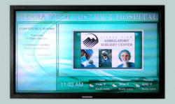 Digital Signage at Sierra View District Hospital