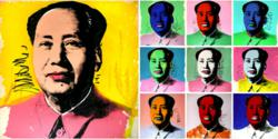 Andy Warhol Mao screen prints