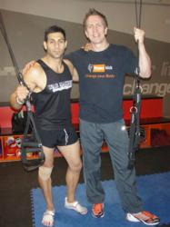 Exclusive AU distributors of the War Machine Rotational Bodyweight Trainer, Tony Antoniou and Matt Thom of Fitness Kick.