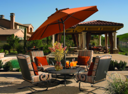 OW Lee Wrought Iron Patio Furniture