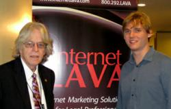 Jason Miller, President of Internet LAVA, and Keith Stroup, founder of NORML